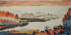 【黄建南】广东河源人 当代著名画家 油画家 中国工艺美术家协会理事 山水