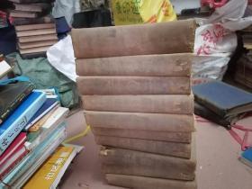 民国外文书:The century dictionary and cyclopedia 1-10册差第六册+一册里面是地图共十本合售 大约三十多公斤