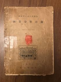满洲国立奉天图书馆图书分类目录
