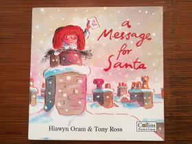 英文原版 绘本 A Message for Santa - Tony Ross 作品 童书