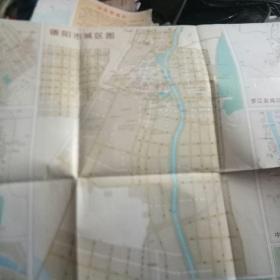 四川德阳市旅游交通图