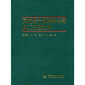 高混凝土面板堆石坝施工关键技术 宗敦峰 等著 中国水利水电 9787517019343 高混凝土面板堆石坝施工关键技术 正版图书
