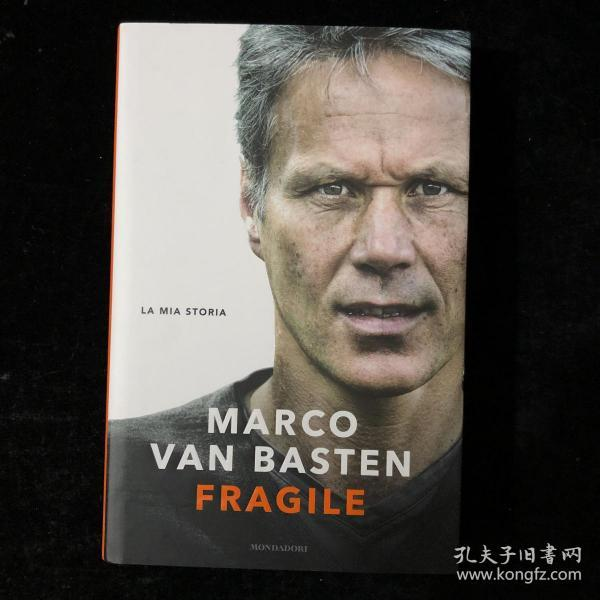 范巴斯滕 ac米兰 荷兰 个人自传 传记 2019年 意大利语 原版