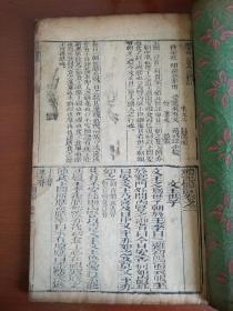 【清刊本】《漱芳軒合纂禮記體注》卷二1冊
