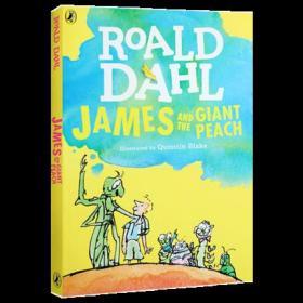 英文原版 詹姆斯与大仙桃 James and the Giant Peach 飞天巨桃历险记 罗尔德·达尔 Roald Dahl