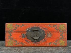 木胎漆器首飾盒