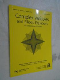Complex Variables and Elliptic Equations An International Journal Vol 51 No.3 march 2006 �辨������