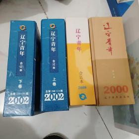 辽宁青年2000,2002(上下),2008,2012~2014年8本合售