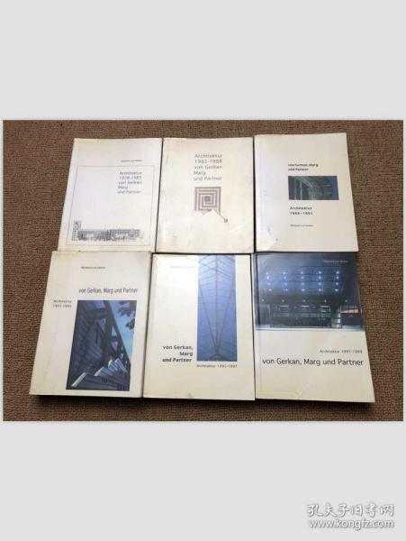von Gerkan, Marg und Partner:Architecture 2-7(6本)