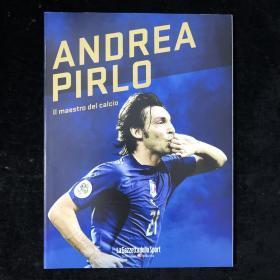 皮尔洛退役纪念画册 pirlo 意大利国家队足球世界杯 ac米兰 尤文图斯