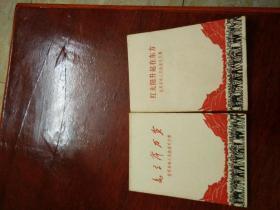 红太阳升起在东方,毛主席万岁(世界革命人民热爱毛主席)2本合售,详情见图