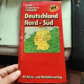 Deutschland Nord-Süd【德国地图】