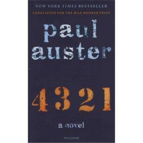 保罗·奥斯特:4 3 2 1(2017布克奖长名单) 英文原版 4321 Paul Auster Picador Paper
