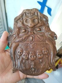 铜佛牌一个,厚度不厚,个头不算小,年代清末 包真包老,售出不退。