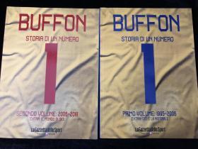 布冯 buffon 意大利国家队退役纪念画册 足球 世界杯 尤文图斯