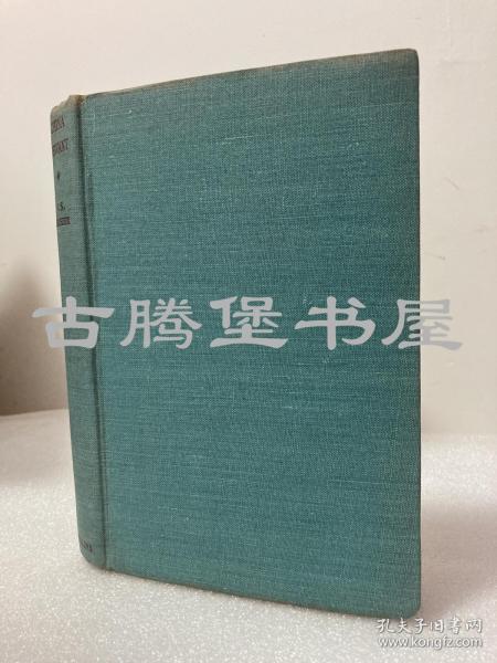 1946年英文/China Servant/中国仆人/蝴蝶页中国地图/书口毛边
