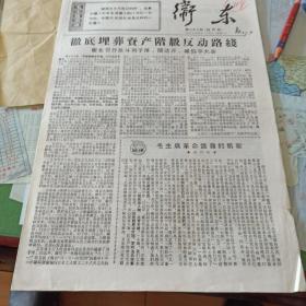 119.文革小报《卫东》1967.4.25