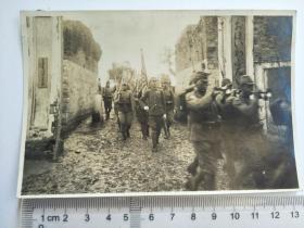 来自日军在江苏省相册,此为其中1张,是否是侵华日军联队占领城镇