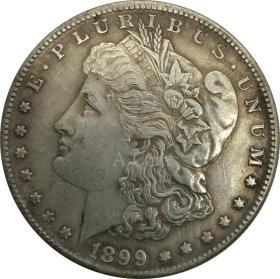 1899年美利坚合众国摩根银元