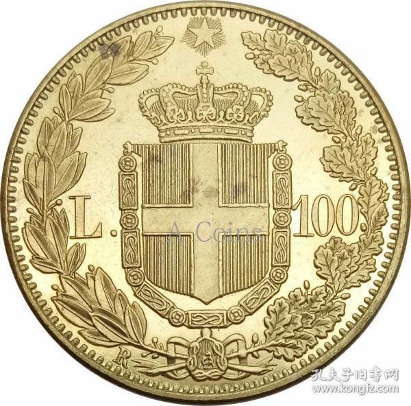 意大利 1888年银元银圆