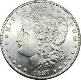 美利坚合众国1887 O 摩根