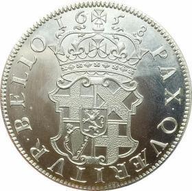 英国克伦威尔皇冠1658