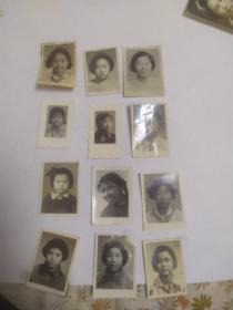 早期美女一组。