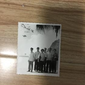 老照片:合影 广州七星崖 1979年