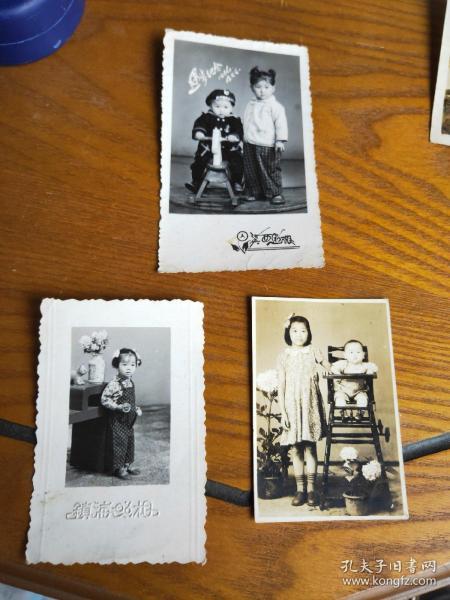 早期儿童照片 3张