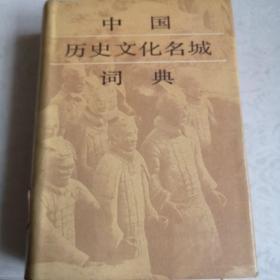 中国历史文化名城词典(馆藏书)
