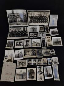 文革时期军人照片共36张,含【青岛海字四三八部队】大尺寸合影3张,特殊时期特殊留念,物品实拍如图!