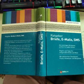 Ratgeber Briefe,E-Mails,SMS提示信、电子邮件、短信【德文原版】32开精装