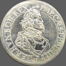 德国南德三世1643年银元银圆