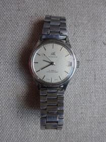 少见ss7网纹盘(上海)手动上链机械老手表