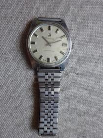 【宝石花】Z112全钢防震型手动上链机械老手表