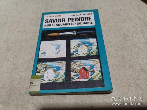 法文原版 科普画册 《绘画》