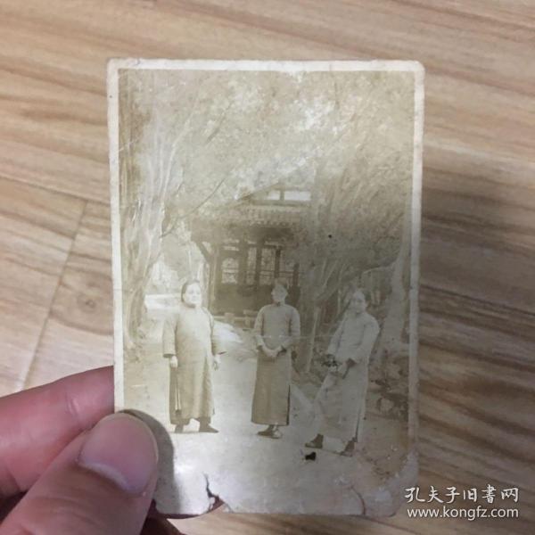 老照片:早期照片 三位女士合影