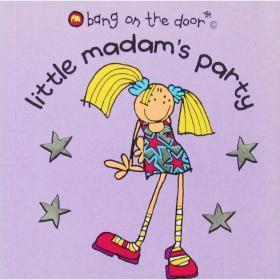 英文原版绘本Little Madam's Party小妇人的派对