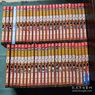 柯南(30至——83)中缺五册32、74、75、76、77;现存49册合售;韩文版;第54册部分受潮;但是不影响阅读;详细见图