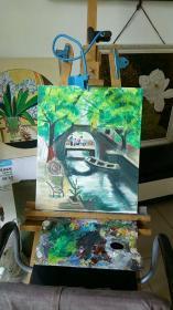 油画风景1
