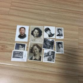 老照片10张:六七十年代个人照10张合售