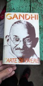 意大利语原版或法语原版GANDHI甘地