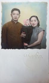 民国美女家庭照片