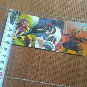 三国群英时空魔幻卡片【3张合售】