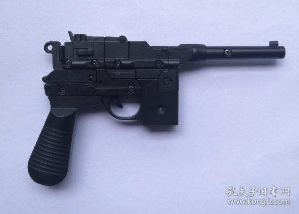 金属烤漆玩具枪一只