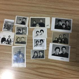 老照片13张:五十年代到七十年代照片13张合售