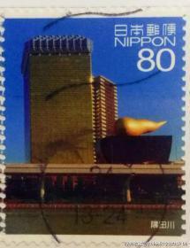 【日本邮票】2012年《东京隅田川》1信销