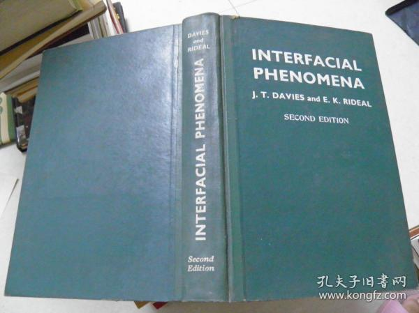 INTERFACIAL PHENOMENA(SECOND EDITION)(界面现象)