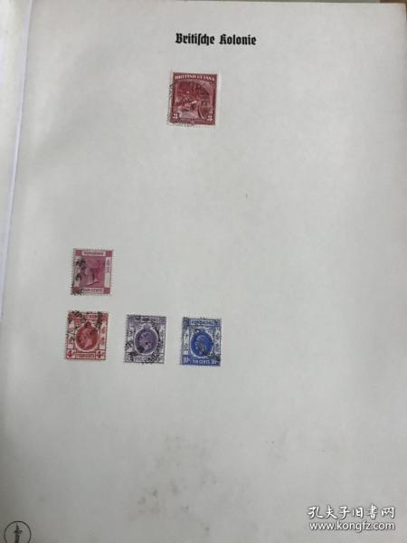 古老邮票页册一本 英属海外属地占领地古典票 里面约97张左右邮票 都是老英属古典邮票。含香港古典女王等 部分没拍照 一本不错的邮票。网上几元以上一枚。