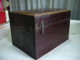 清代木制彩漆手饰盒